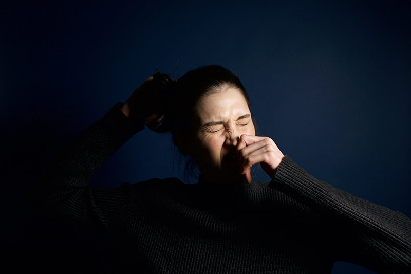 acupuncture helps hayfever